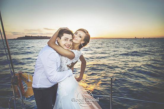 Свадьба на яхте в Болгарии